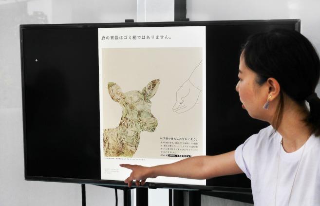 MITSUKIさん鹿のポスターについての発表